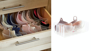 plastic organizer for bras