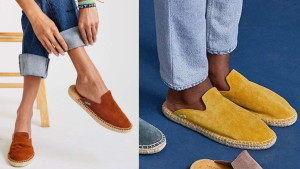 suede espadrilles that come in a wide array of colors