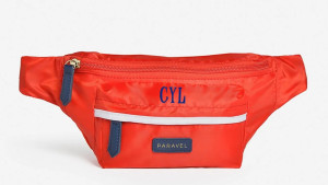 A fold-up belt bag