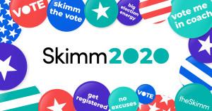 Skimm2020 App Hero
