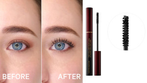 volumizing mascara that washes off with water