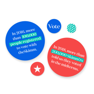 Vote with theSkimm