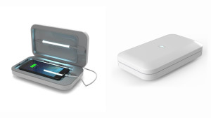 UV sanitizing tray for your phone