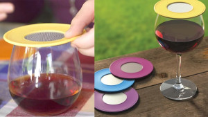 ventilated drink covers to protect your drink from bugs