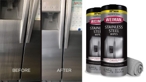 cleaning wipes for stainless steel surfaces