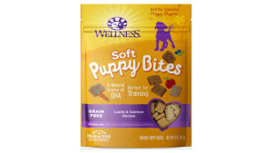 grain-free and nutrient-packed puppy bites