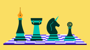 Money Moves Chess Board