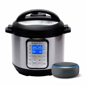 Instant Pot with Echo Dot