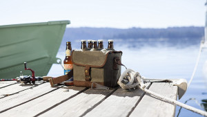 six pack beer caddy with bottle opener