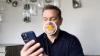 Matt Damon texting with promo image