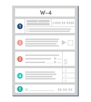 W-4 Infographic
