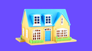 Toy doll house