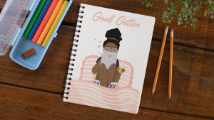 goal getter notebook to help you achieve success in the new year