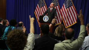 Alex Acosta Press Conference