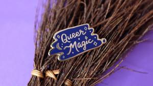 queer magic pin
