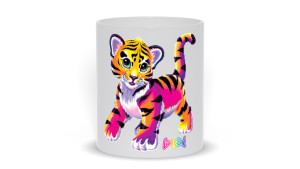 mug with lisa frank design