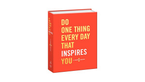 """A """"do one thing every day"""" journal"""