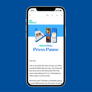 press pause sign up