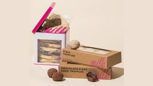 milk bar truffles and cookies