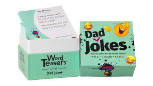 Dad jokes card set