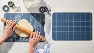 silicone reusable baking mat to replace parchment paper and foil