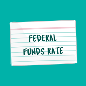 Federal Funds Rate card