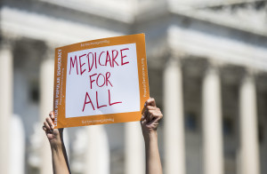 Medicare for all sign