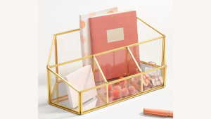 four compartment desk organizer