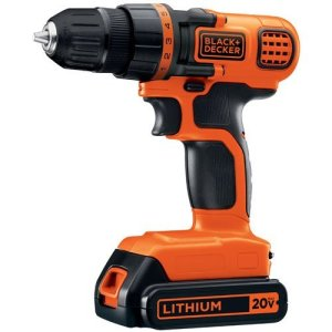 Black and Decker Drill:Drive