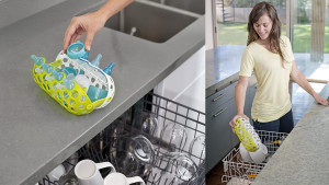 dishwasher basket for baby bottles and pacifiers
