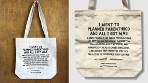 planned parenthood tote bag