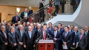 GOP Impeachment sit-in