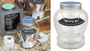 glass memory jar the entire family can use