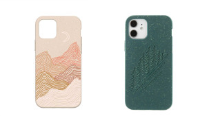 compostable phone case available in multiple designs