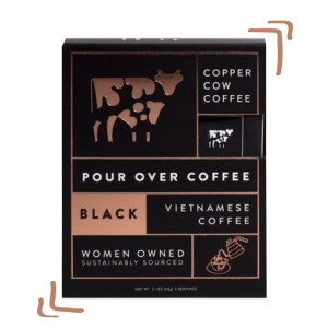 Pour Over Coffee Copper Cow
