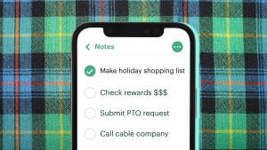 Iphone checklist