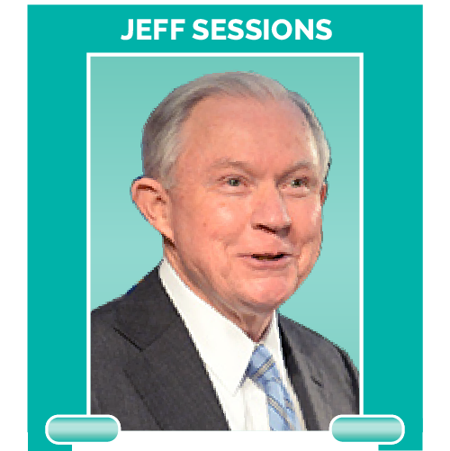 Jeff Sessions is the United States Attorney General