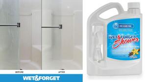 no scrub shower spray