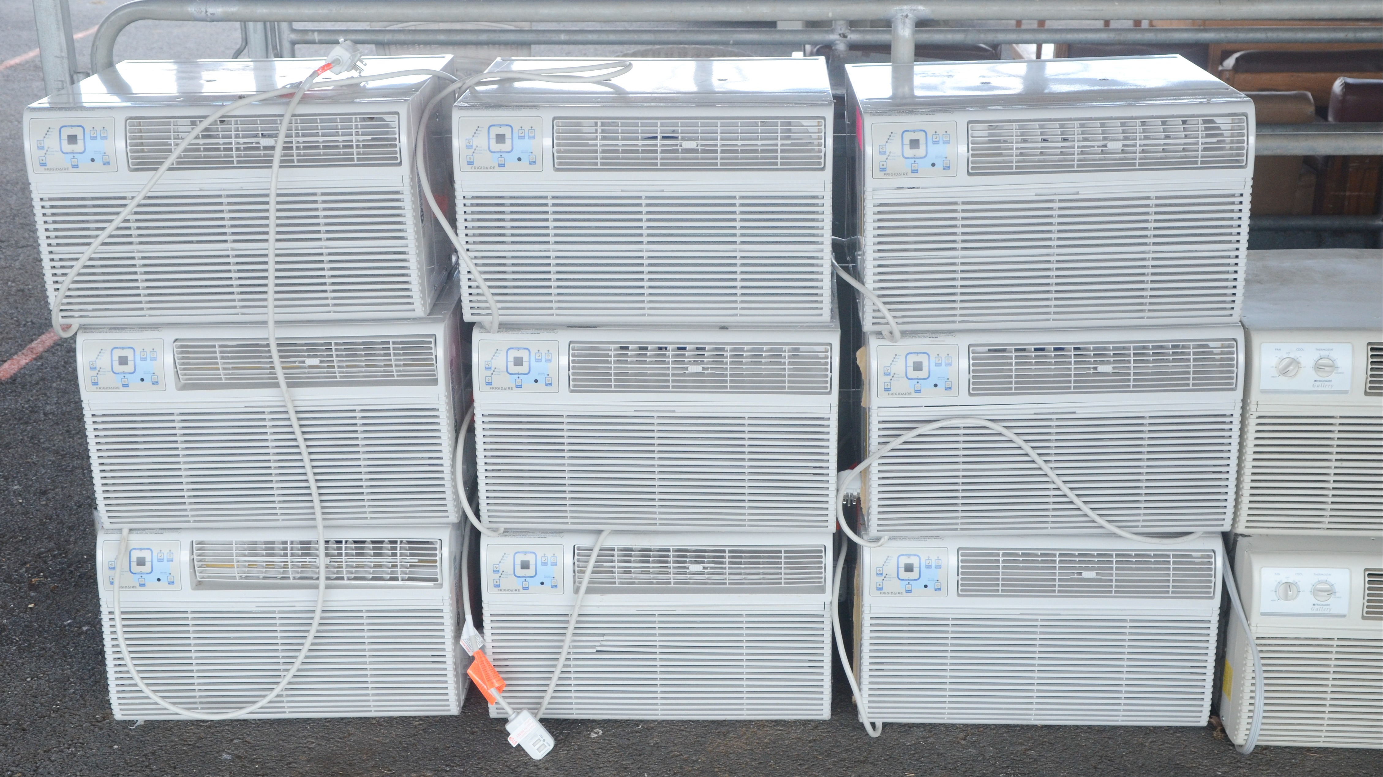 Air Conditioners to be auctioned off.