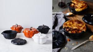 pumpkin-shaped dutch ovens