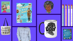 products that celebrate famous women in history