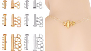 layered necklace clasp to prevent multiple necklaces from tangling around your neck