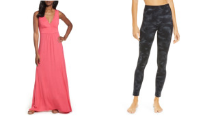 Nordstrom dress and Zella leggings
