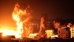 Explosions in Israel-Gaza conflict