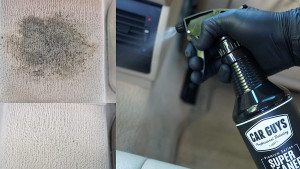 cleaning spray for cars
