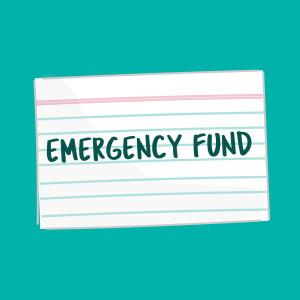 Emergency Fund card