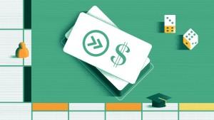 Student loan monopoly board
