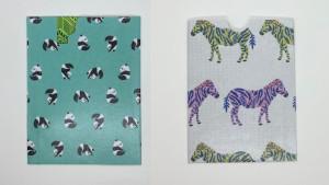 Animal card holder