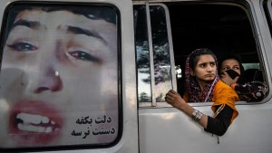 More displaced Afghans arrive in Kabul as Taliban gain ground.