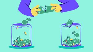 Saving and Paying off Debt Image